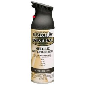 Rustoleum Universal Metallic Oil Rubbed Bronze